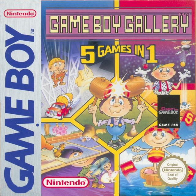 Game **Boy** Gallery, not Game **& Watch** Gallery.