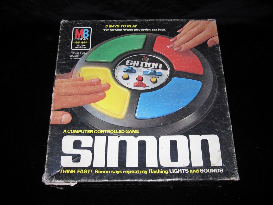 Simon, the pattern-matching game