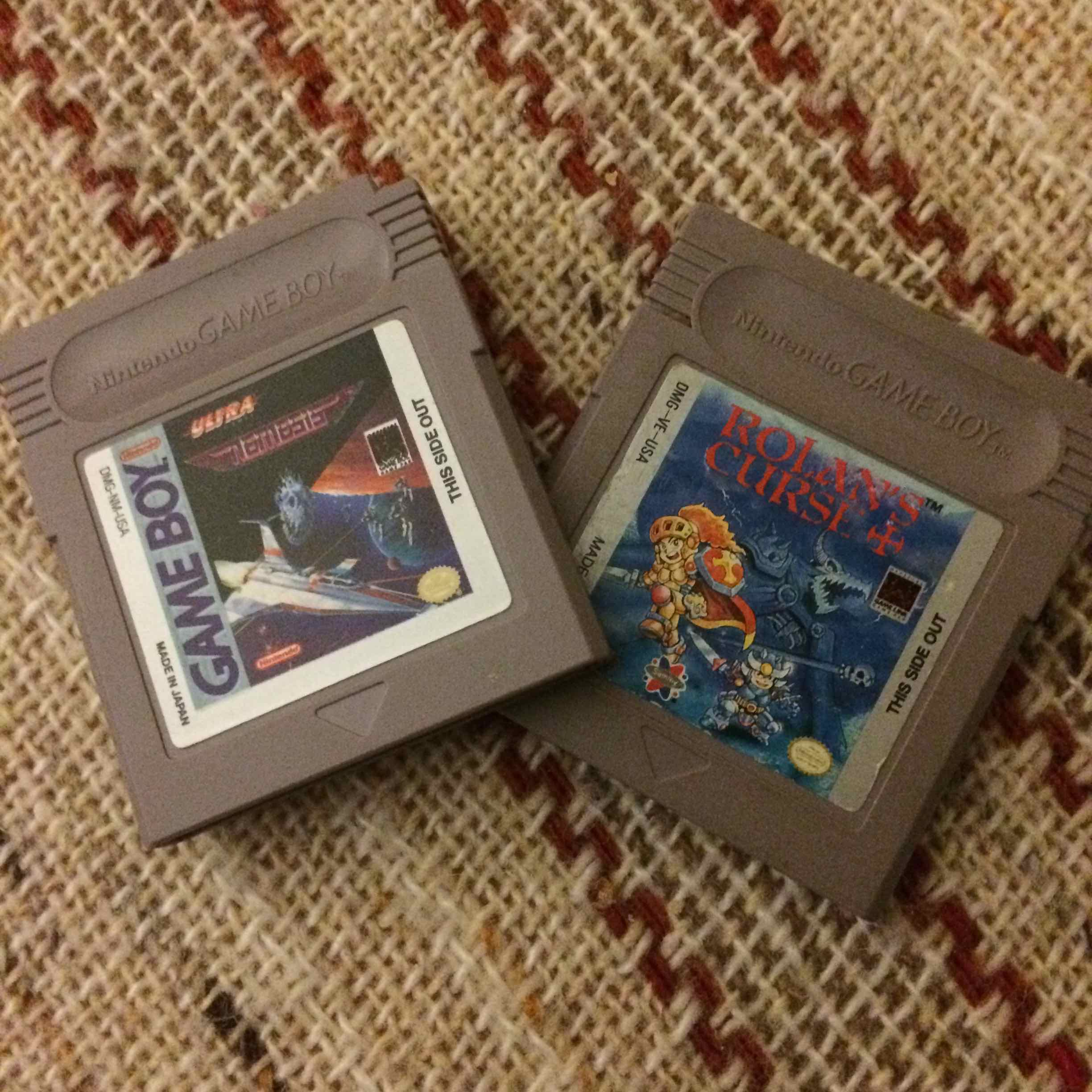 I collect Game Boy games for those crazy little details; they're neat.